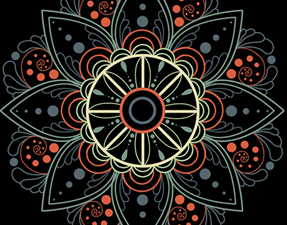 Floral Color Pattern