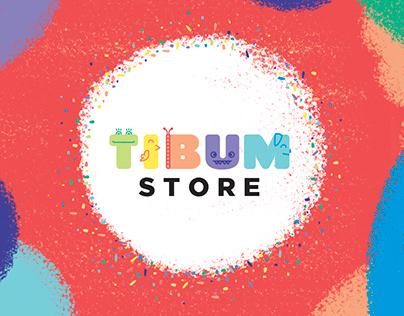 Tibum Store - Marca e Identidade Visual