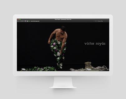 Víctor Royás · Contemporary Visual Artist Website