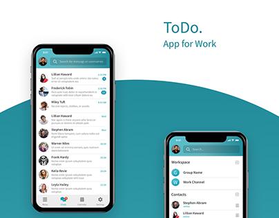ToDo. App for Work