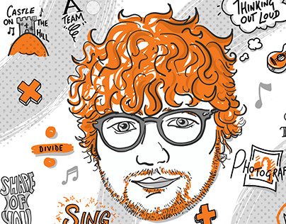Ed Sheeran illustration