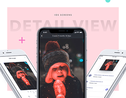 Detail View - IOS App UI/UX Design