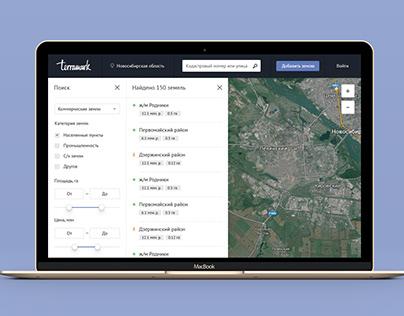 Terramark.ru UI/UX