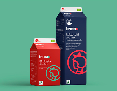 Packaging design for Irma