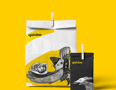Branding and User Interface: Quisine