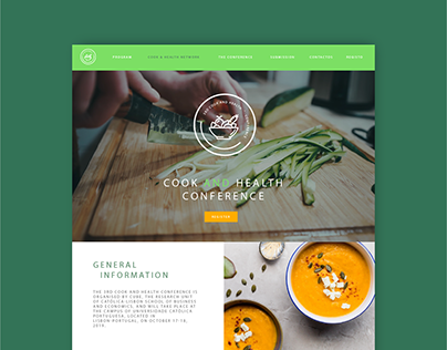 WEBSITE - COOK AND HEALTH CONFERENCE