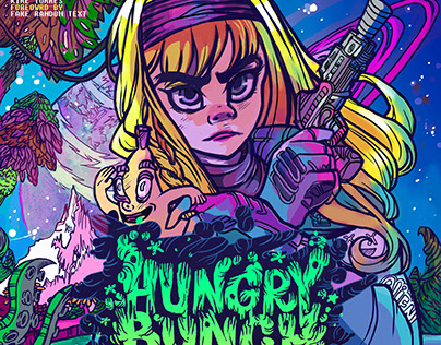 """""""Hungry Bunch"""" Comic Book"""