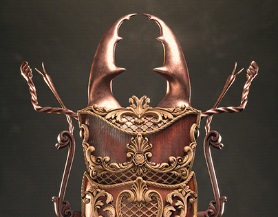 Cyclommatinus Bicolor | The Art Of 3D Insects