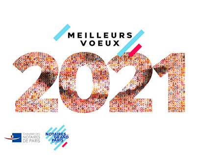 YOUTUBE Chambre des Notaires de Paris | Voeux 2021