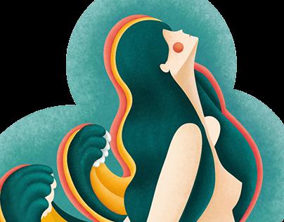 tattoo design Ana Isabel Gil Studio Grafico Hippocampu