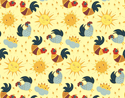 Rising Rooster Patterns