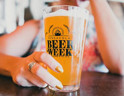 Pensacola Beer Week Glass