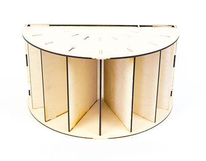 Shelf Life. A Modular Shelf with Infinite Possibilities