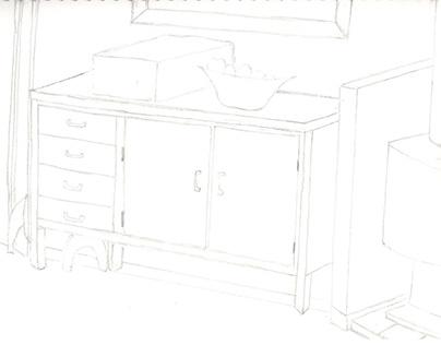 A4 Drawings Visual Diary #1