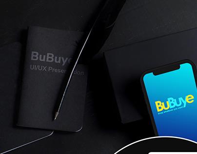BuBuye - UI/UX Presentation