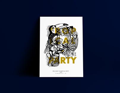 TROPICAL PARTY - Enluminure, édition