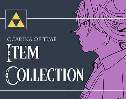 [Inktobter 2020] Ocarina of Time Item Collection