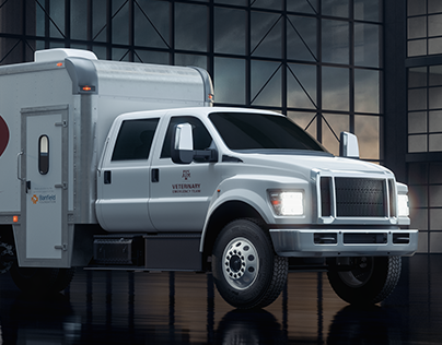Disaster Relief Vehicle - CGI