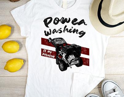 Power Washing T-shirt Design | Cleaning Service T-shirt