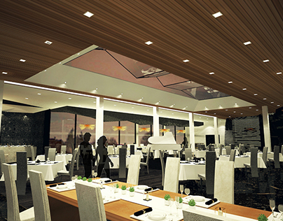 Restaurant Design- Spago by Wolfgang Puck
