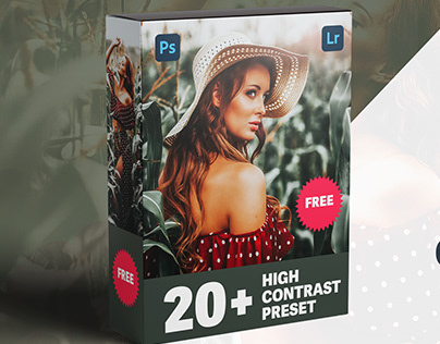 20+ High Contrast Photoshop & Lightroom Preset