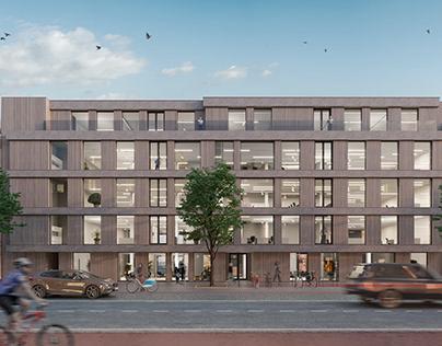 Office building in Antwerpen