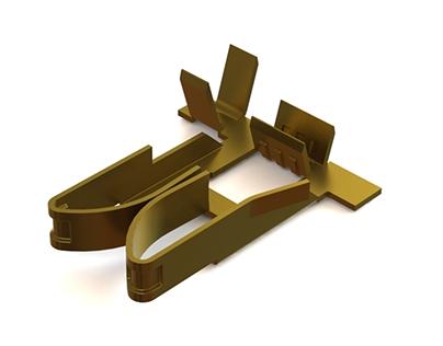Modelado SolidWorks Pieza de latón