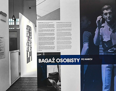 Graphic designfor the exhibition March 68'