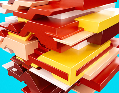 Colorful platformer.