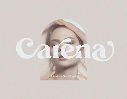 Show More Carena - Ligature Serif Font