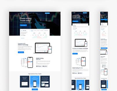 AroFX - mobile app and desktop trading platform