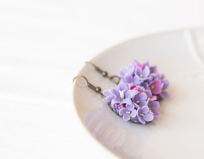 Handcrafted bluebells