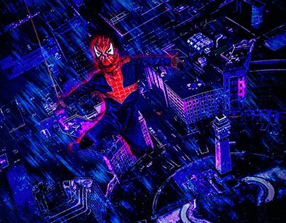 #Spidergram Indianapolis