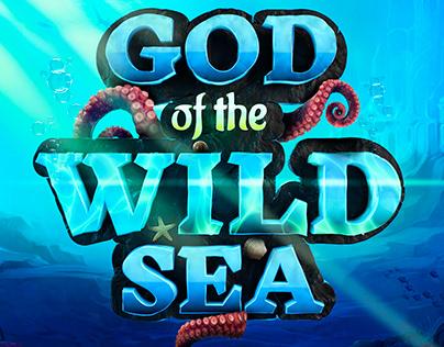 Test Logo Design for Playson. God of Wild Sea Game Logo
