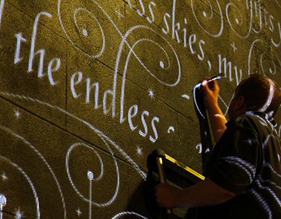 Seb Lester 'First Time Ever' Mural film
