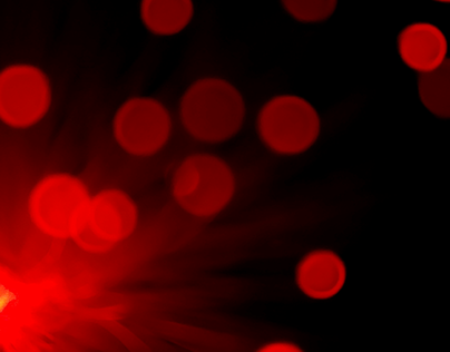 making bokeh backgrounds - Cell phone and fiber optic