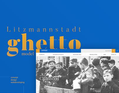 Litzmannstadt ghetto model webdesign