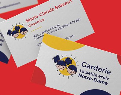 Branding La petite école Notre-Dame (version retenue)