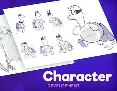 Kin Toons - Character Development