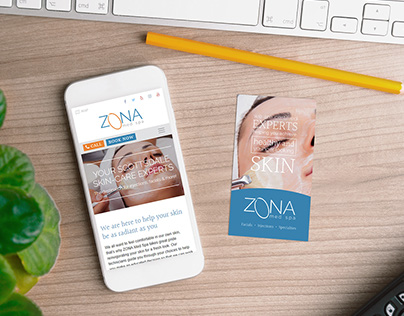 ZONA Med Spa Brand & Collateral