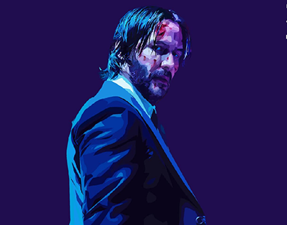 John Wick Projects Photos Videos Logos Illustrations And Branding On Behance