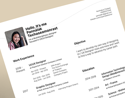 Free template | My Resume 2019