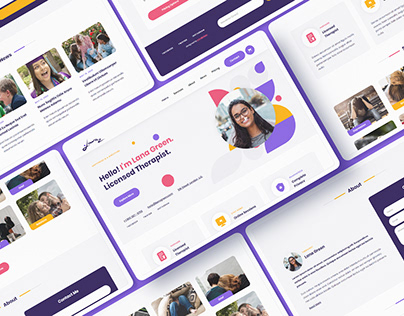 Lana - Therapy Website Template