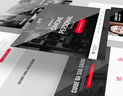 Web Design - Site Simone Personal