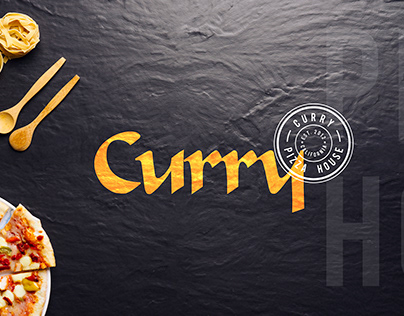 Logo Design & Branding for Curry Pizza