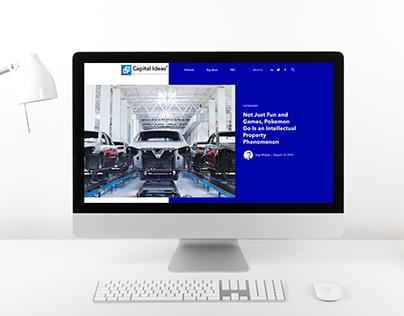 Capital Ideas - Website Design