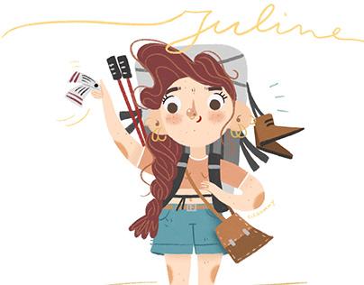 #Juline - Ad Un Tratto challenge