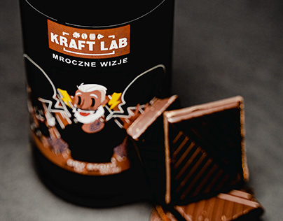 Kraft Lab - Stout Label Design