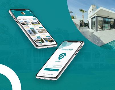 Rental Home App | Rent App design