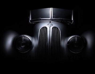 BMW 328 car fine art photography